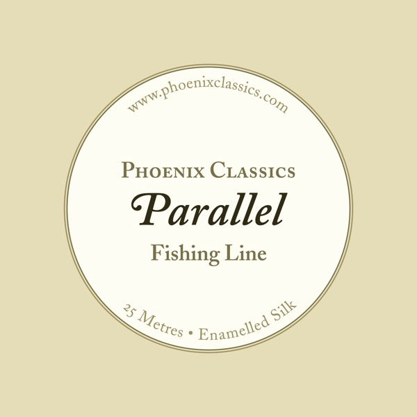 Parallel fishing line packaging.