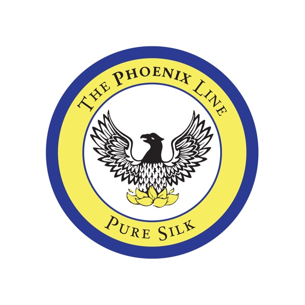 Logo: The Phoenix Line - Pure Silk.