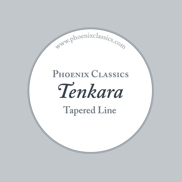 Tenkara fishing line packaging.